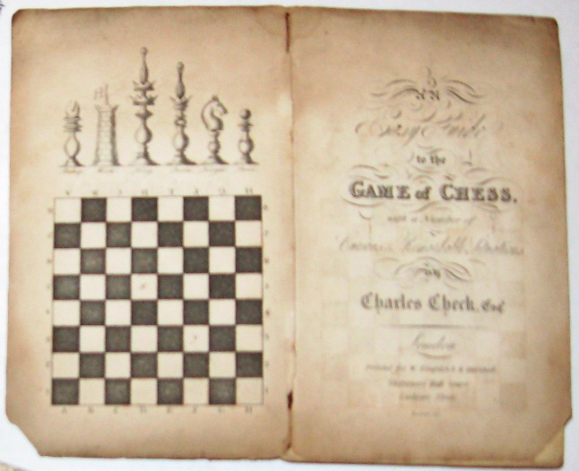 Check - An Easy Guide to Chess - 1818