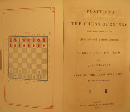 Long - Positions In The Chess Openings