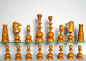 Antique English Chess Set