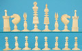Fine English Ivory Chess Set