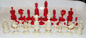 Old English Ivory Chess Set
