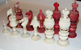 Anglo-Indian Ivory Chess Set