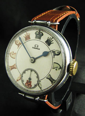 ... main chess page this watch is called a transitional era watch it was