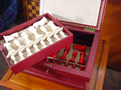 "Jaques 5.5"" Antique Ivory Staunton Chess Set - Possibly Howard Staunton's Own Set"